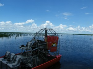 Airboat Carmor Plains